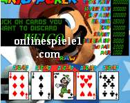 Mario Video Poker gratis spiele