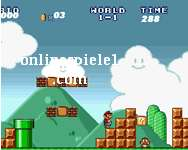 Super Mario Bros (Level 1) spiele online